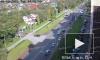 Видео: в Красном селе полиция гналась за машиной с мигрантами