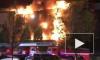 В Грозном потушили пожар в крупнейшем торговом центре Чечни