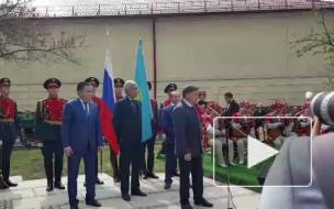Макаров на открытии памятника