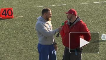 Интервью тренеров Ребелс - Грифоны в перерыве