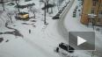 """В Петербурге """"желтый"""" уровень опасности из-за снегопада"""