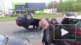 На пересечении Сизова и Королева произошло ДТП с перевер...