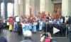 В Петербурге на крестный ход 13 апреля выйдут 2 тысячи маленьких ангелов и ослик