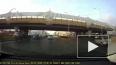 Видео: на Богатырском проспекте перевернулся мусоровоз