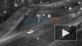 Автомобиль влетел в ограждение на проспекте Косыгина