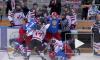 Видео: опубликована массовая драка российских и канадских хоккеистов во время матча