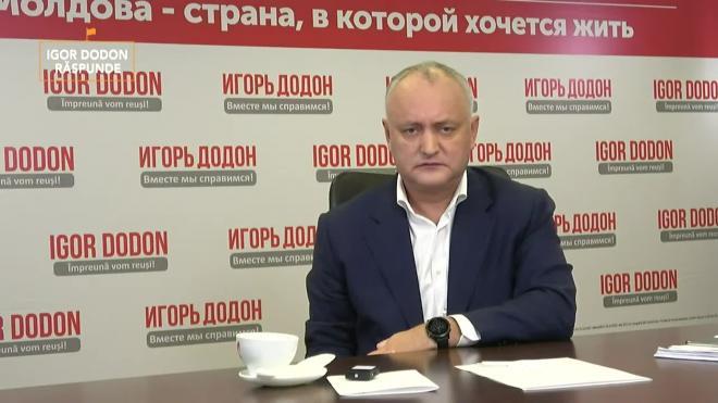 "Додон: Молдавия не станет ""пушечным мясом НАТО"""