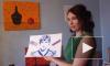 Грудастая художница из Петербурга нарисовала портрет Овечкина своим телом