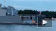 """Видео: на фрегате """"Адмирал флота Касатонов"""" спустили ..."""