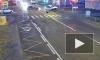 Видео: легковушка влетела в ограждение после ДТП в Шушарах