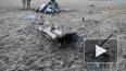 Появилось видео с места крушения вертолета МИ-2 Министер ...