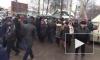 """Горячее видео: Пайщики ЖК """"Силы природы"""" полностью перекрыли движение на Токсовском шоссе в Мурино"""