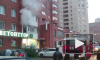 Видео: на Ленинском проспекте горела квартира