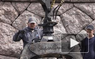 Видео: в Выборге завершают восстановление стены на Певческом поле