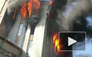 На Складской улице загорелось производство свечей