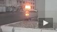 Появилось видео, как полыхал цех Кировского завода ...