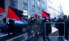 Анархисты с файерами прорывались на Невский проспект