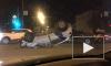 Момент ДТП с перевернувшимся каршерингом на Блюхера попал на видео