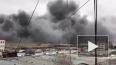 Жуткое видео из Дагестана: крупный пожар уничтожил рынок