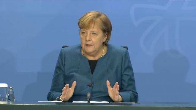 Меркель объявила о введении карантина в Германии со 2 ноября