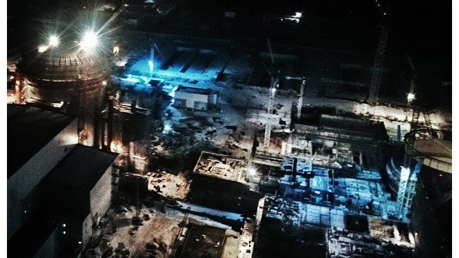 Петербургские руферы устроили фотосессию на Ленинградской атомной электростанции