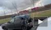 Видео: легковые автомобили серьезно пострадали после ДТП на Софийской