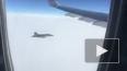 Сближение самолета президентского авиаотряда и истребите ...