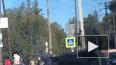 В Сертолово на перекрестке перевернулся автомобиль