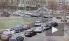 ДТП на пересечении улицы Нахимова и Галерного проезда попало на видео