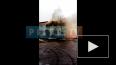 В поселке Большая Ижора произошел пожар в двухэтажном ...