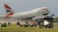 Boeing-747 врезался в аэропорт Йоханнесбурга, разрушив ...