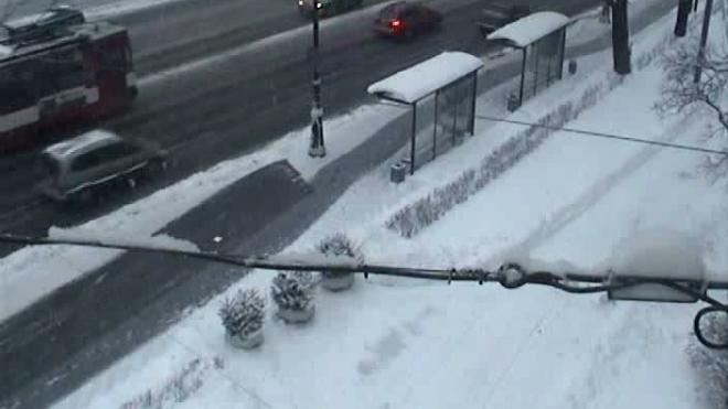 Автобус врезался в грузовик. ДТП на Каменноостровском проспекте