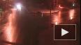Видео: В Москве автобус врезался в фонарный столб, ...