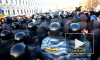 Петербург, митинг на Исаакиевской. 5 марта. Дыхание Чейн-Стокса.