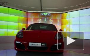 Компания Porsche представила новый Boxter и привезла 4 суперспорткара