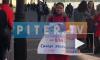 Женщина устроила одиночный пикет на Малой Садовой