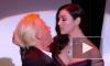 Горячее видео из Франции: Моника Беллуччи страстно поцеловала своего соведущего