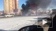 Вспыхнул как спичка: утром на Витебском сгорела газель