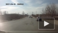 Очевидец снял ДТП с мотоциклистом в Рязани