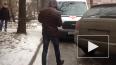 В Петербурге автохам на Porsche перегородил дорогу ...