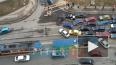 На въезде в Кудрово таксист подрезал иномарку: образовал ...