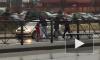 Видео из Всеволожска: Из-за 100 рублей водитель такси сбил мужчину на глазах у жены и ребенка