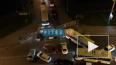ДТП на въезде в Кудрово: столкнулись автобус и джип ...