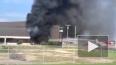 Опубликовано видео с места крушения самолета в Техасе, ...