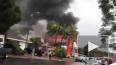 Видео из Калифорнии: На частный дом рухнул самолет, ...