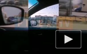 В Петербурге проводят дезинфекцию остановок