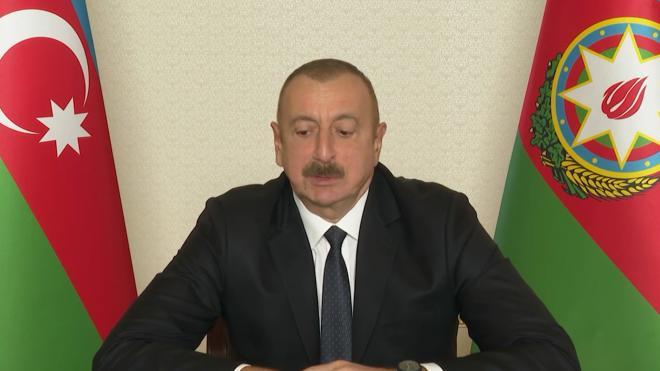 Алиев извинился перед Путиным за инцидент с российским Ми-24