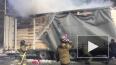 В Алтайском крае на трассе загорелась фура с хлопком