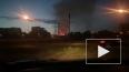 Ночью горело здание на Белградской улице