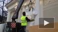 Видео: рабочие установили скульптуры воинов на павильон ...